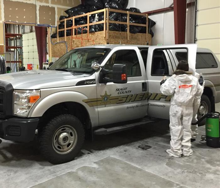 Skagit County Sherriff's Vehicle