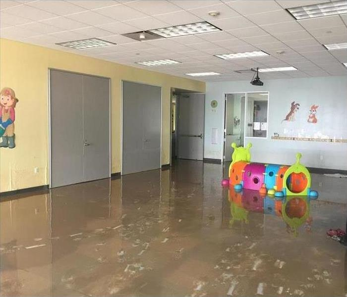 Flood in a daycare